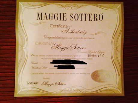 Svadobne saty(ivory) od Maggie Sottero, 42