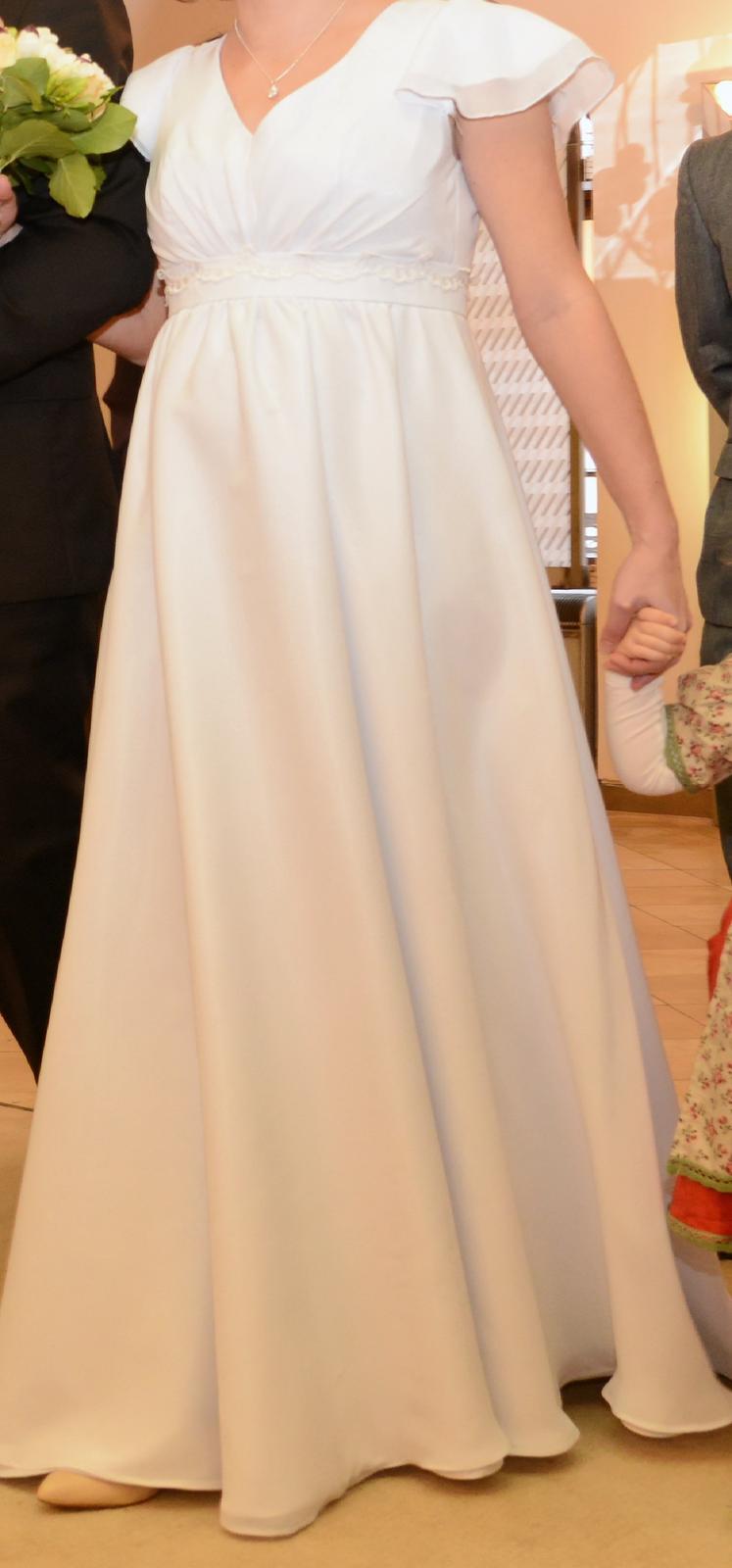 Tehotenské svadobné šaty 7140d0f1b8c