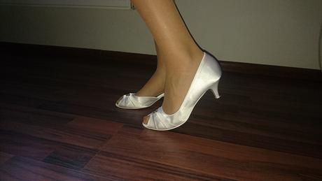 Svadobné topánky s kamienkom , 40