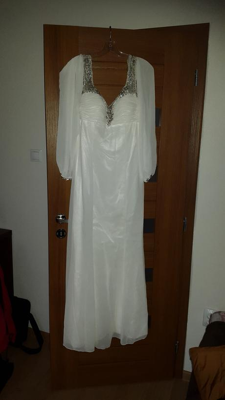 tehotenské svadobné šaty , 38