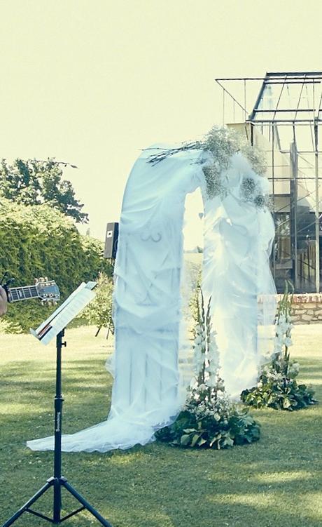 Ozdoby na svatební oblouk ,