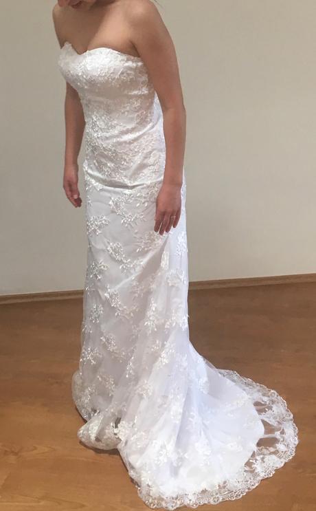 Svatební šaty nepoužité, 36