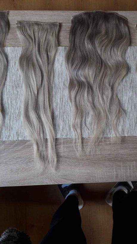 Clipy do vlasovREMYextra huste dlzka 50 cm blond,