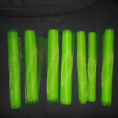 organza zelená,