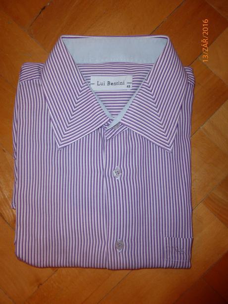 Pánská košile s dlouhým rukávem, XL