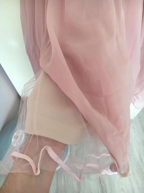 Staroružové šaty (nielen) pre družičky M/L, 40