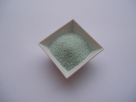 dekorační písek 1 kg -mint ,