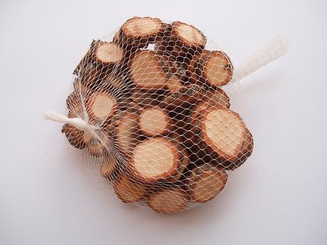 dřevěná kolečka,
