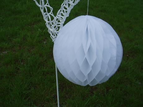 honeycomb-bílý 29 cm,
