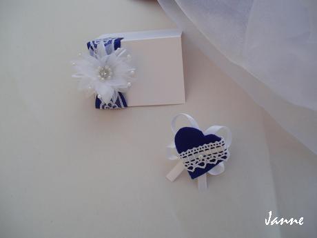 Jmenovka-modrá,krajka,