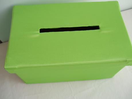 krabička na přání,