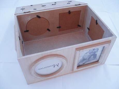 krabička vzpomínek,