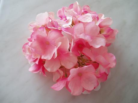 květ hortenzie-růžový,