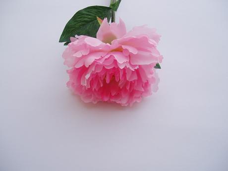 květ pivoňky-umělá kytka,