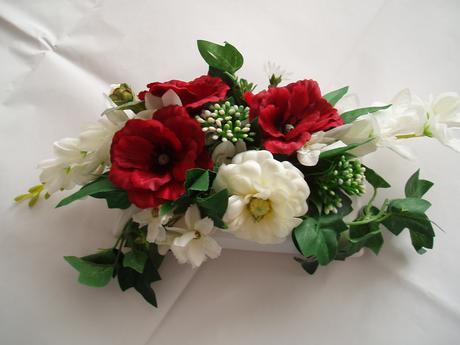 květinová dekorace ,