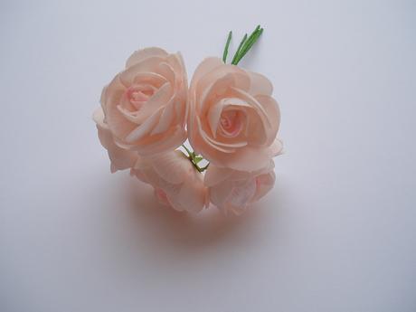 kytice pěnových růží-pudrově růžová,