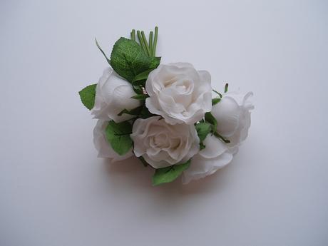 kytice růží bílá 2,