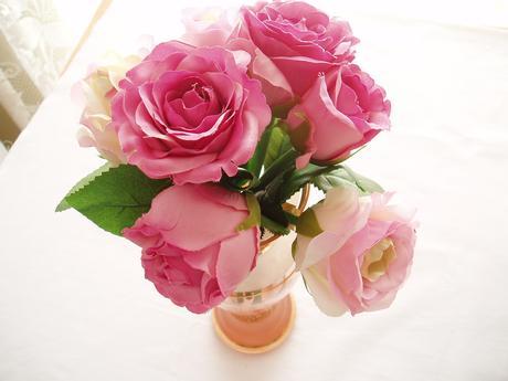 kytice růží-růžové,