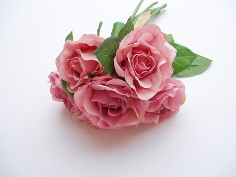 kytice růží-starorůžová,