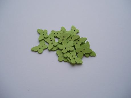 motýlek zelený,