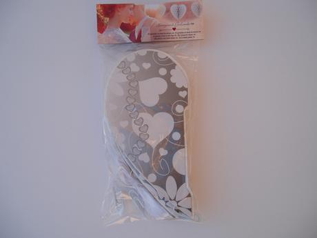 papírová girlanda honeycomb-srdce,