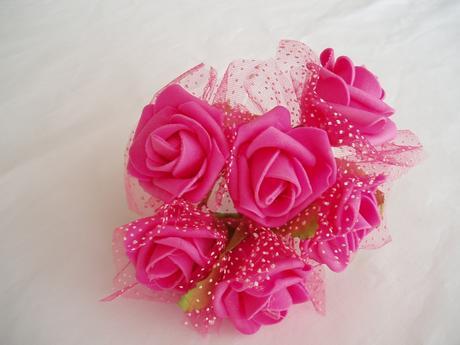 pěnová růže-fuchsiová,