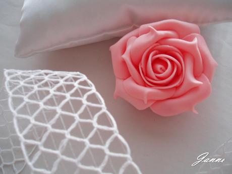 pěnová růže-jemně růžová,