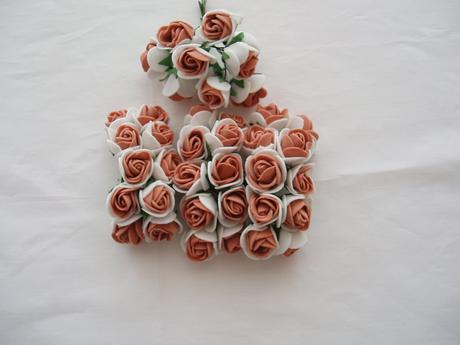 pěnová růžička-hnědá,