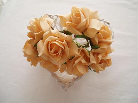 pěnové růže-kávové,