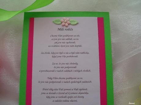 poděkování rodičům-zeleno-růžové,