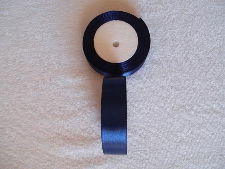 saténová stuha -2,5 cm,