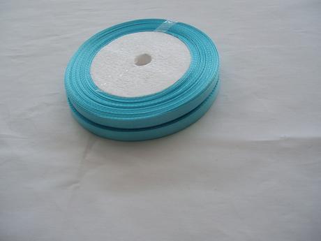 saténová stuha modrá-0,9cm,