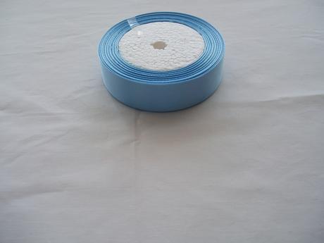 saténová stuha modrá-2 cm,