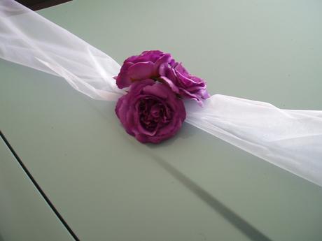 šerpa fialové růže,