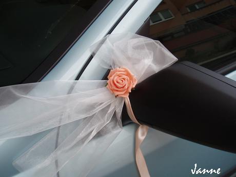 šerpa na auto-růže,