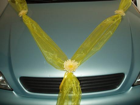 šerpa na auto-žlutá,