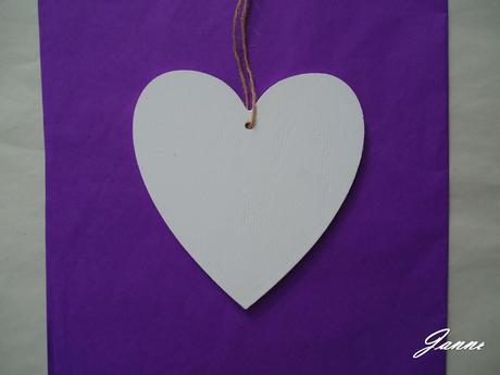 srdce dřevěné,