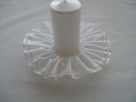 sukýnka na svíčku,