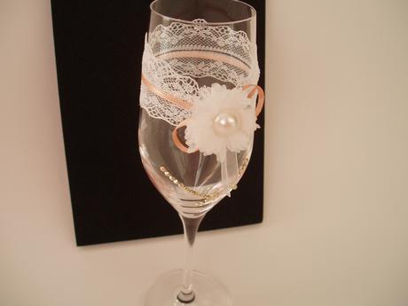 svatební skleničky,