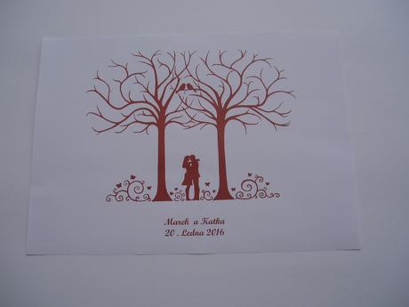 svatební strom č.1,