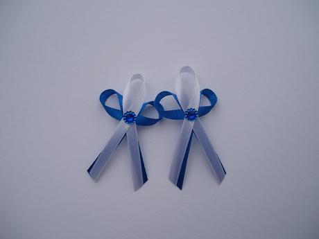 vývazek modrý,