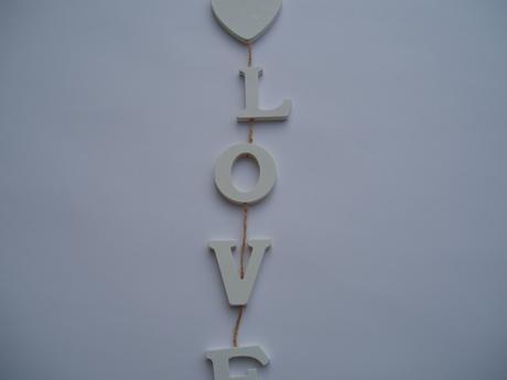 """Závěs """"love"""","""
