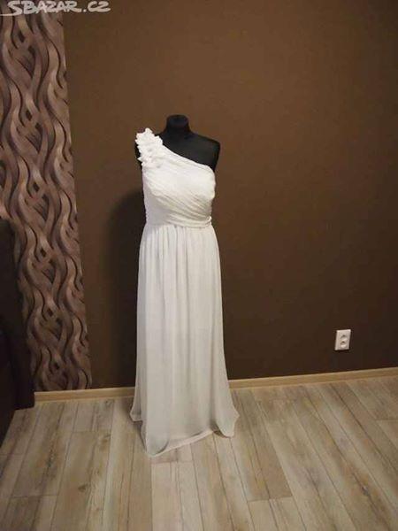 Antické svatební šaty vel.42-44, 44