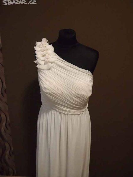 Antické svatební šaty vel.44, 44