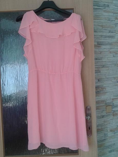 Lososové šaty H&M , 46