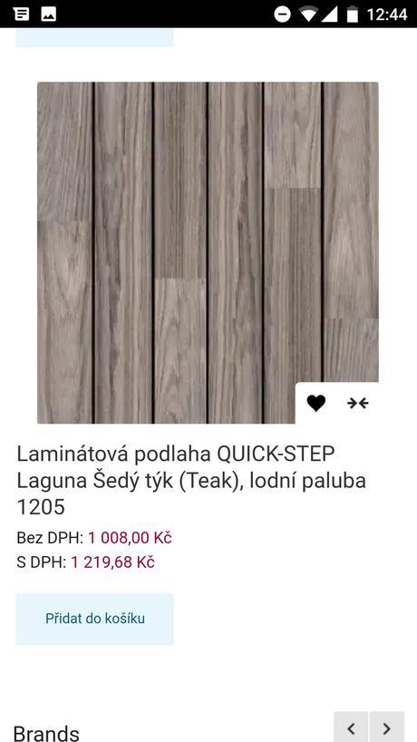 Plávajúca podlaha Quick step Lagune,