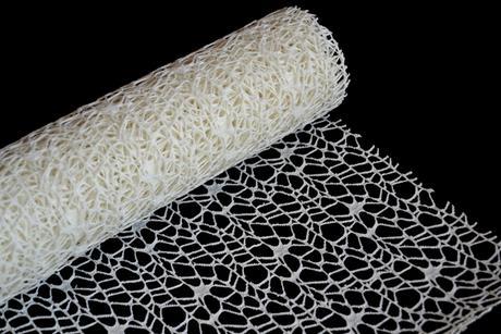 Dekoračná sieťka (hačkovaná) 50cm/4,5m - krémová,
