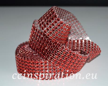 Diamantový ( Šrásový ) pás 3cm/5y - modrý,