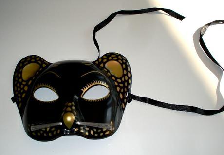 """Maska """"egyptská mačka"""","""