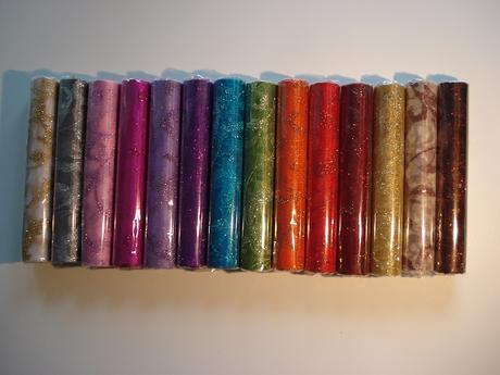 Organza s potlačou glitter,